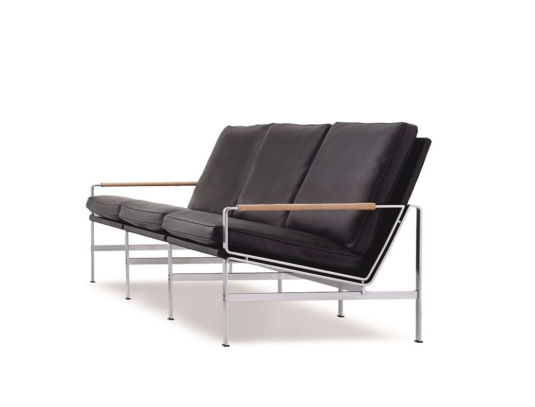 lange production fk sofa 3seater 1968 3. Black Bedroom Furniture Sets. Home Design Ideas