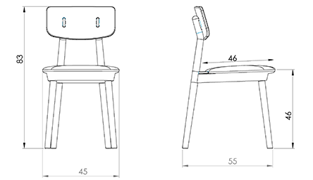 Devorm Clip Chair